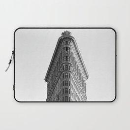 Flatiron Black and White NYC Laptop Sleeve