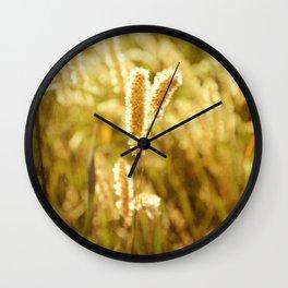 AFE Ornamental Grass Wall Clock