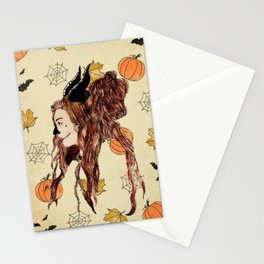 Happy Halloween (Maleficent ) Stationery Cards