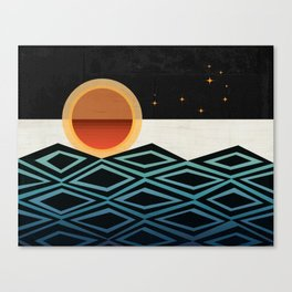 The Pleiades Canvas Print