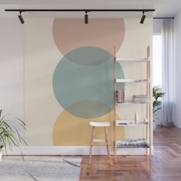 Circle Gradient - Melons Wall Mural