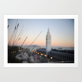 Ferry Building Art Print