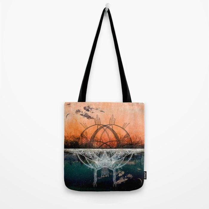 TwoWorldsofDesign: II Tote Bag