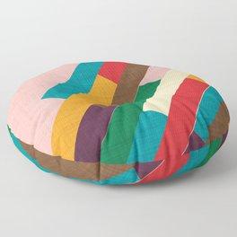 meridian pink Floor Pillow