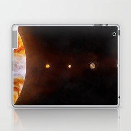 Jupiter & its moons (sizes to scale) Laptop & iPad Skin