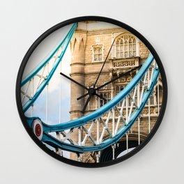 Rendezvous At Tower Bridge Wall Clock