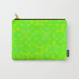 Retro kitchen pattern green Carry-All Pouch