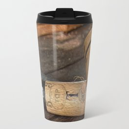 Mallet. Polo equipment Travel Mug