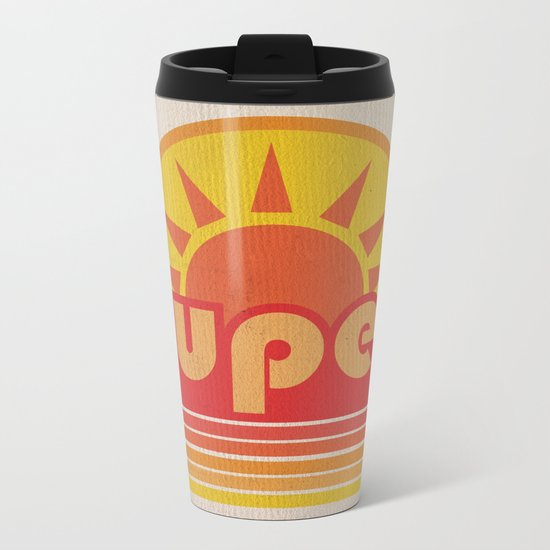 super duper Metal Travel Mug