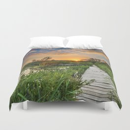 """Towards the sun....."" Duvet Cover"