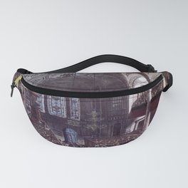 Vintage Print - Microcosm of London Plate 079 - St Martin's in the Fields (tone) (1810) Fanny Pack