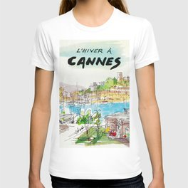 Winter In Cannes T-shirt