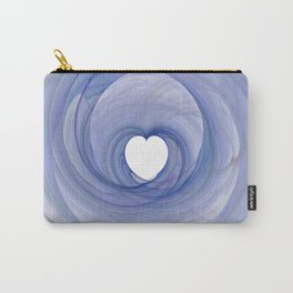 Valentine's Fractal III - Light Carry-All Pouch