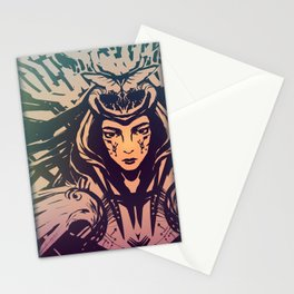 Technomage Stationery Cards