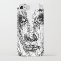 leah flores iPhone & iPod Cases featuring LEAH by EDEN