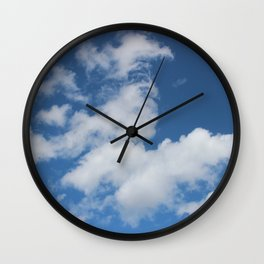 Clouds 4 Wall Clock