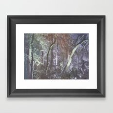 forest tale Framed Art Print