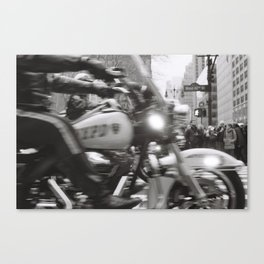 NYPD, West 42nd St Canvas Print