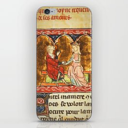 Arthur Legend 2 Lancelot and Guenevere iPhone Skin