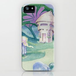 Goldilocks Sees the Cottage iPhone Case