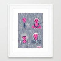 helen Framed Art Prints featuring Helen Chau by Skinjobs