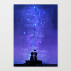 In the stars Canvas Print