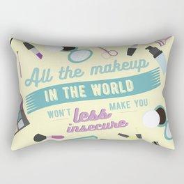 sorry not sorry Rectangular Pillow