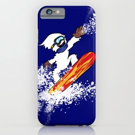 Magical Snowboarding Yeti iPhone Case