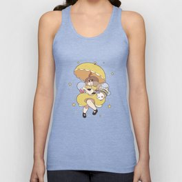 Bee and Puppycat Unisex Tank Top