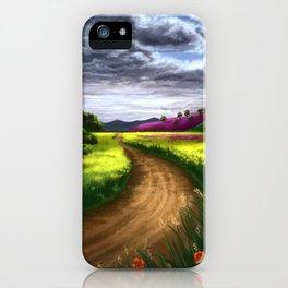 Serene Path iPhone Case