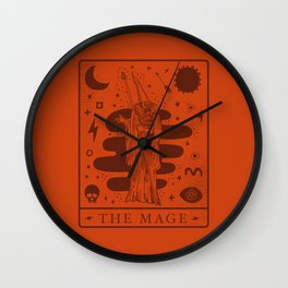 the mage Wall Clock