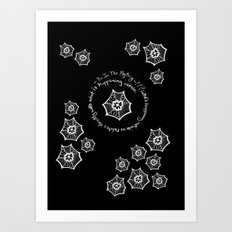 Be In the Mystery Art Print