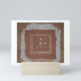 Stones and Sawdust Mini Art Print