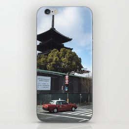 Kyoto Street iPhone Skin