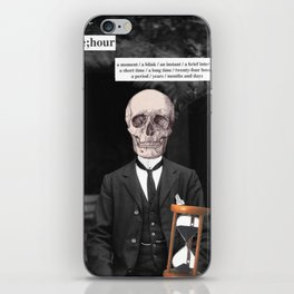 It's Time. iPhone Skin