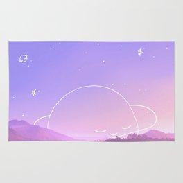 Sleeping Planet Rug