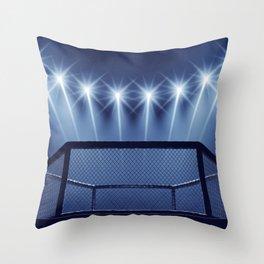 MMA arena Throw Pillow