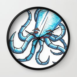 Octopus Machine Wall Clock