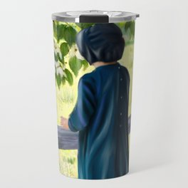 Little Amish Girl Travel Mug