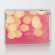 Last Years Words  Laptop & iPad Skin