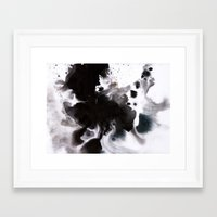 abyss Framed Art Prints featuring Abyss by Naomi Shingler