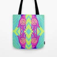 wreck it ralph Tote Bags featuring Wreck by Breezaux