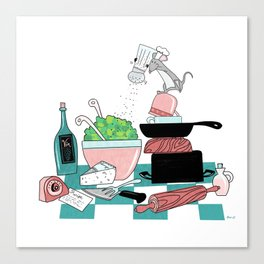 The Hungry Mouse Canvas Print