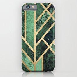 Art Deco Emerald iPhone Case