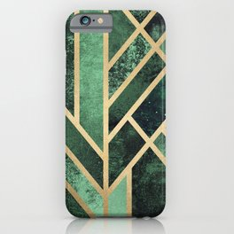 Art Deco Emerald iPhone Case