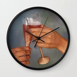 The Toast Wall Clock