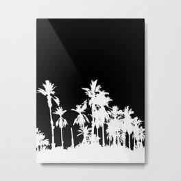 Date Trees II Metal Print