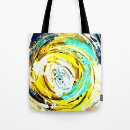 Yellow twister Tote Bag