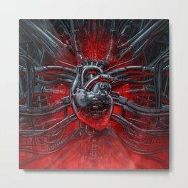Heart Of The Gamer Metal Print