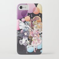 madoka magica iPhone & iPod Cases featuring Puella Magi Madoka Magica - Only You by Yue Graphic Design